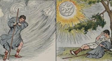The north wind and the sun milo winter